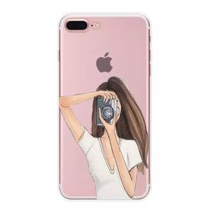 🔥 JUST IN 🔥FASHION GIRL CASE IPHONE 7 8 PLUS